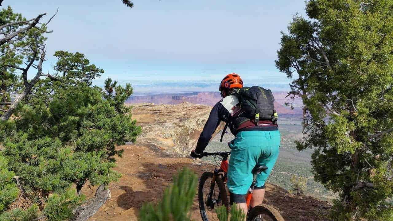 Mountain Biking in Portal Trail
