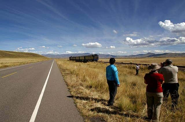Trip by train from Cusco