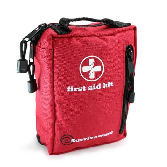 Pack a compact first aid kit