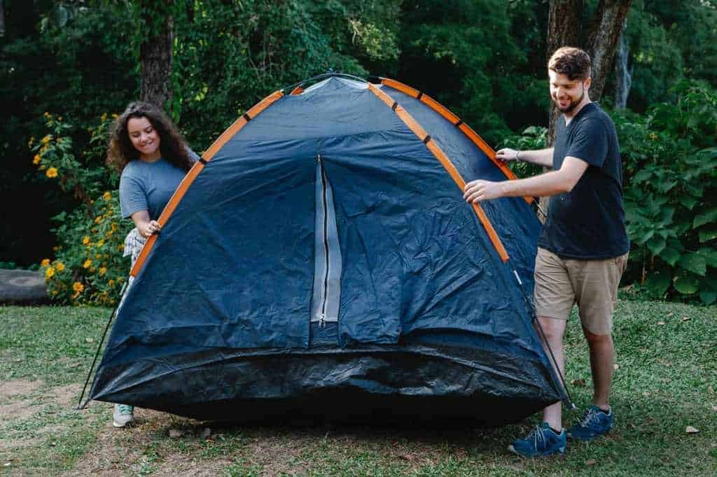 How And Where To Pitch Your Tent