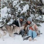 How Cold is Too Cold for Dog Camping